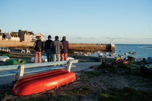 L'île de Molène - pêcheurs
